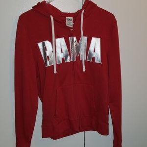 Alabama zip up hoodie. Worn once
